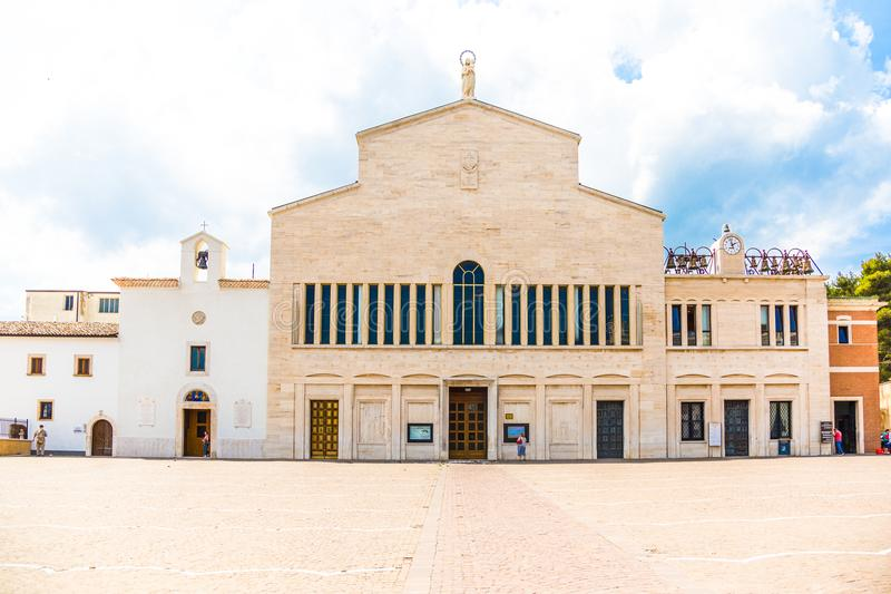 Sanctuary of San Giovanni Rotondo, Apulia, Italy. royalty free stock photography