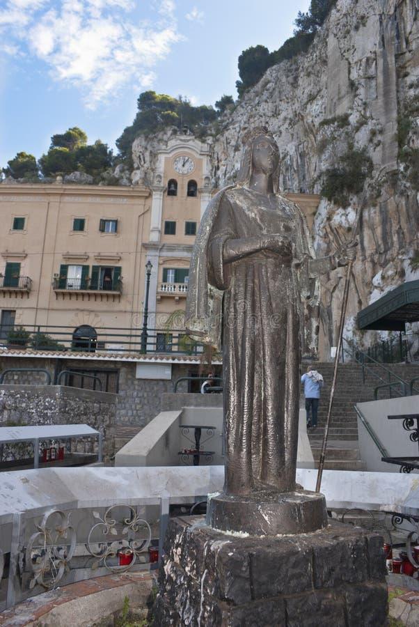 Download The Sanctuary Of Santa Rosalia Stock Photo - Image of palermo, historical: 27405914