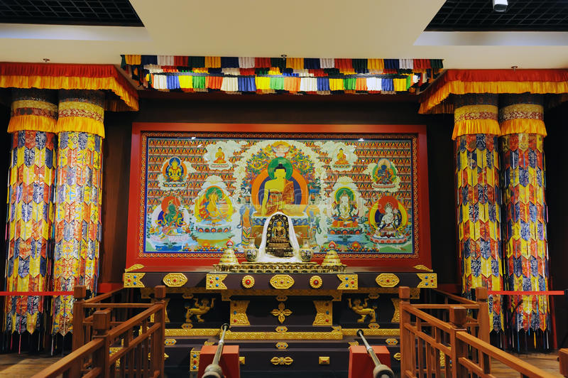 Sanctuary Of Tibetan Buddhism Editorial Stock Image