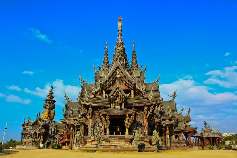 Sanctuary Of Truth Stock Photos