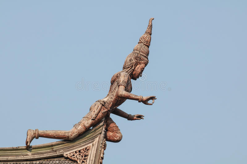 Sanctuary of Truth in Pattaya royalty free stock images