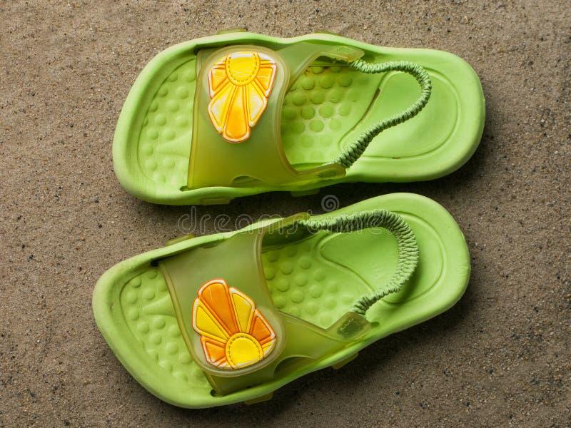 Sandália foto de stock