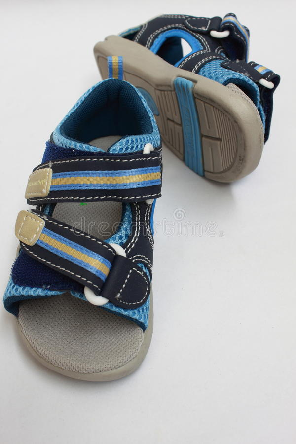 sandália do verão do miúdo imagens de stock royalty free