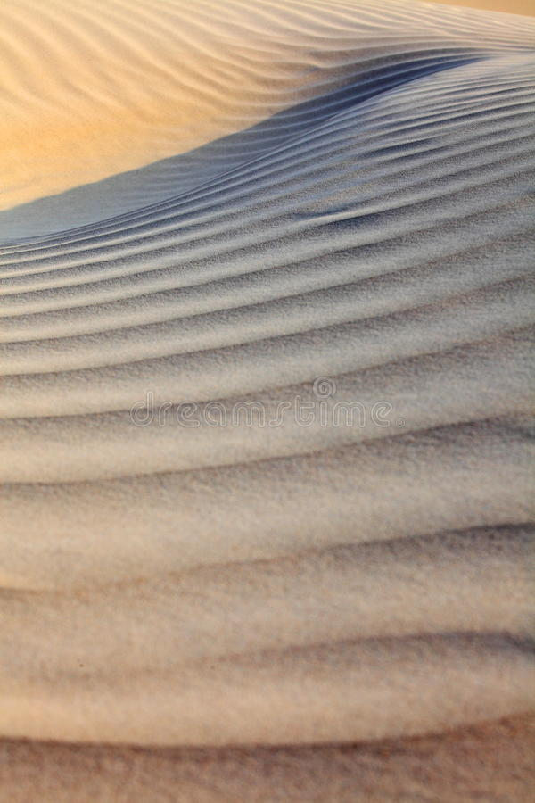Sandökenyttersida royaltyfri fotografi