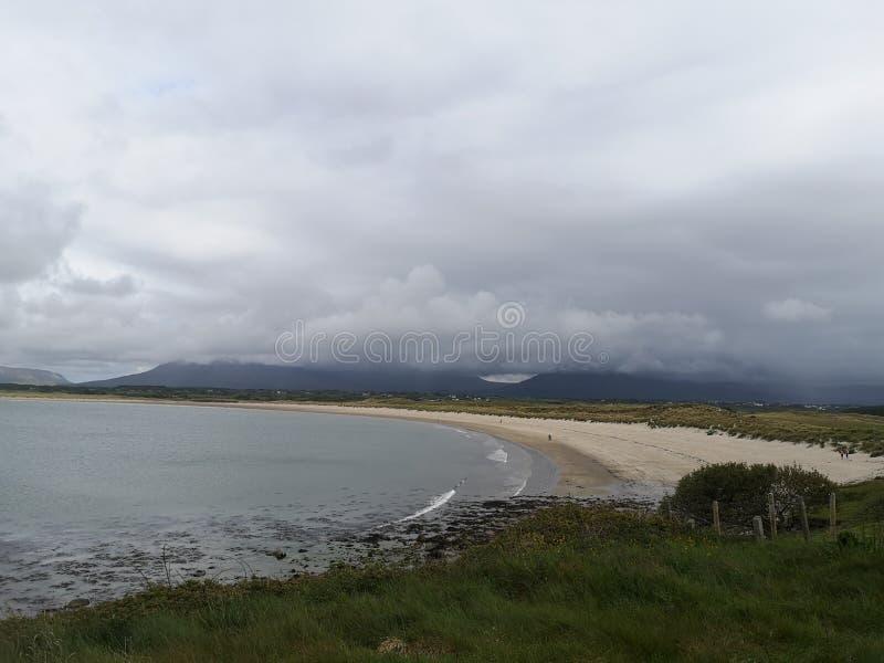 Sand Atlantic Ocean för Irland strandmullaghmore royaltyfri fotografi