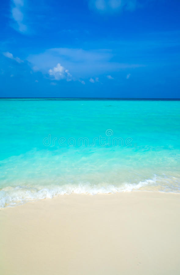 Free Sand Beach And Ocean Wave Royalty Free Stock Image - 21007366