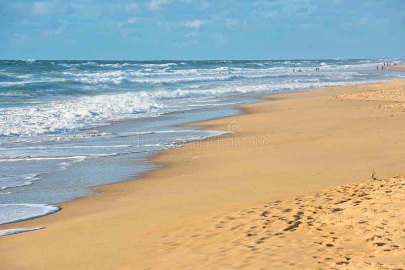 Sand beach, France royalty free stock photos