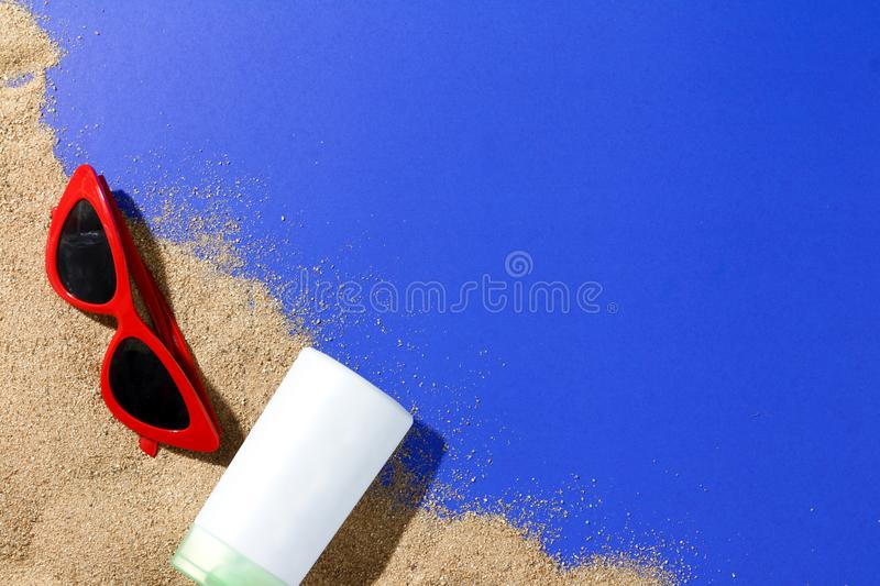 Sand beach stock images
