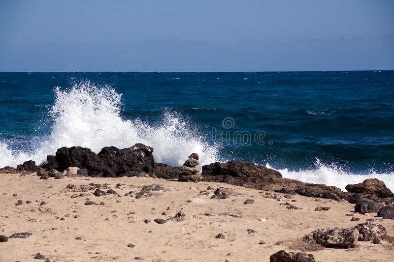 Download Sand Beach In The Summer Royalty Free Stock Images - Image: 12082649