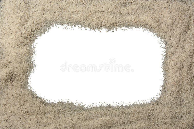 Download Sand Border stock image. Image of white, beach, around - 10217981