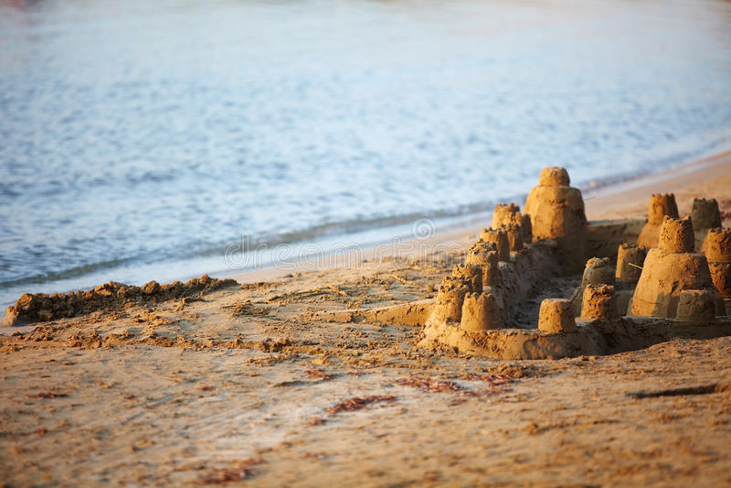 Download Sand castle stock image. Image of recreation, sandcastle - 26269073