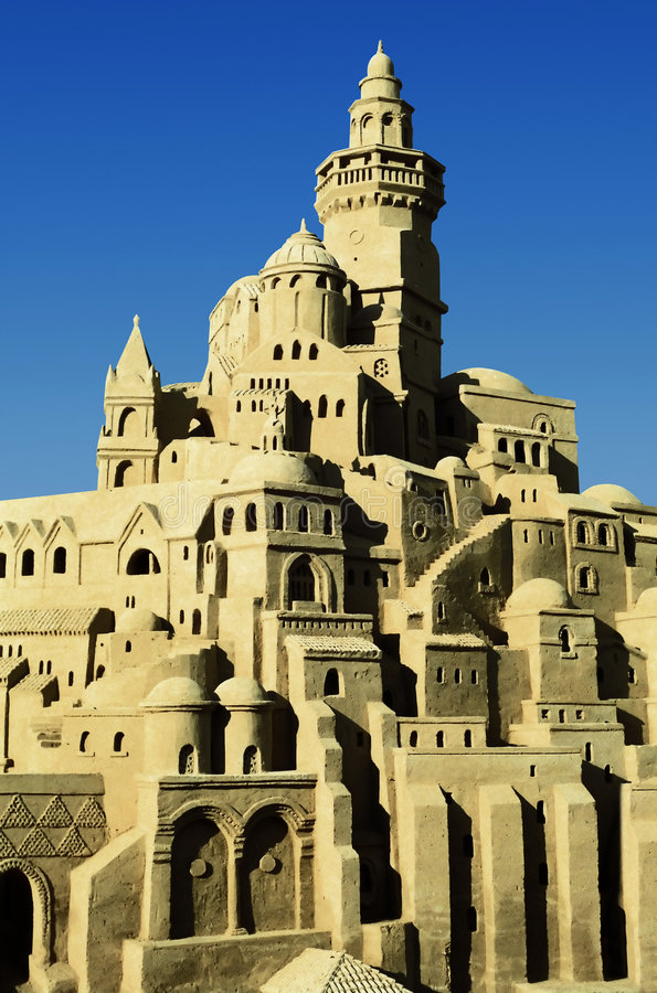 Download Sand castle stock photo. Image of babylon, architecture - 2762180