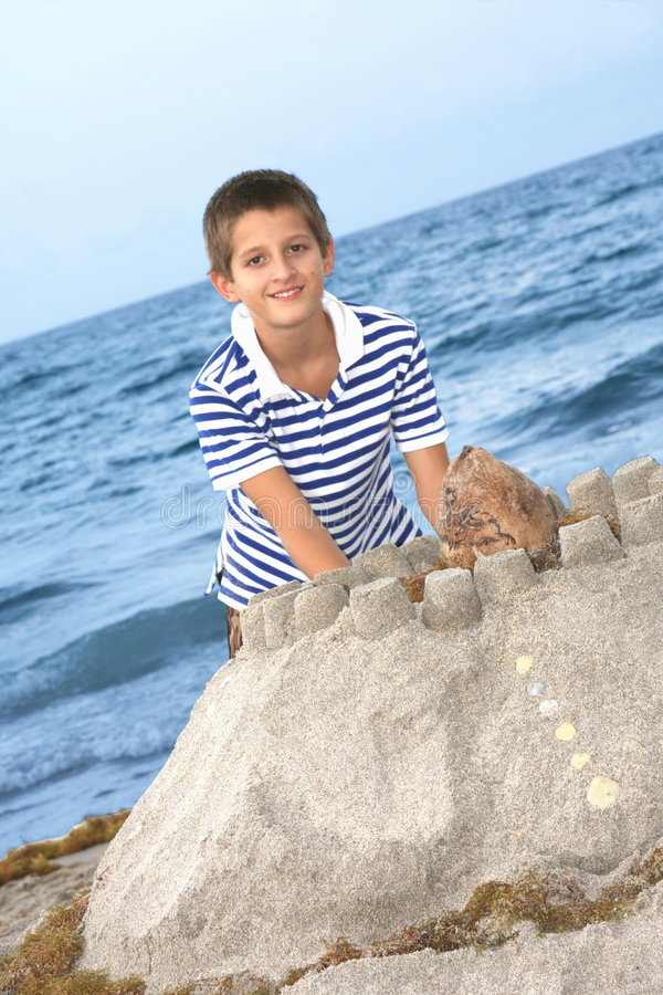 Download Sand castle stock image. Image of activity, choldhood - 5657075