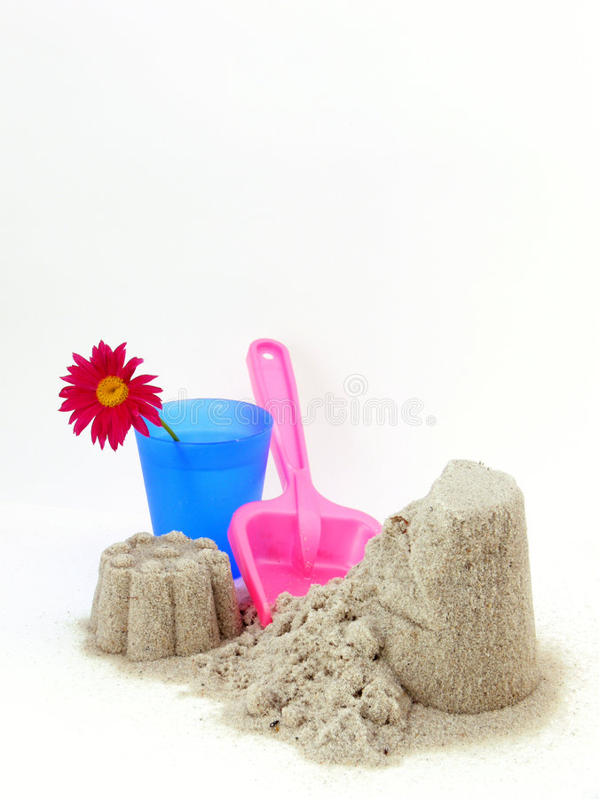Download Sand castle stock photo. Image of recreation, vacations - 6676072