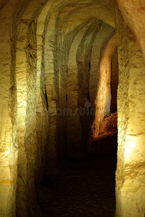 Download The sand cave stock photo. Image of dark, europe, geological - 9992224