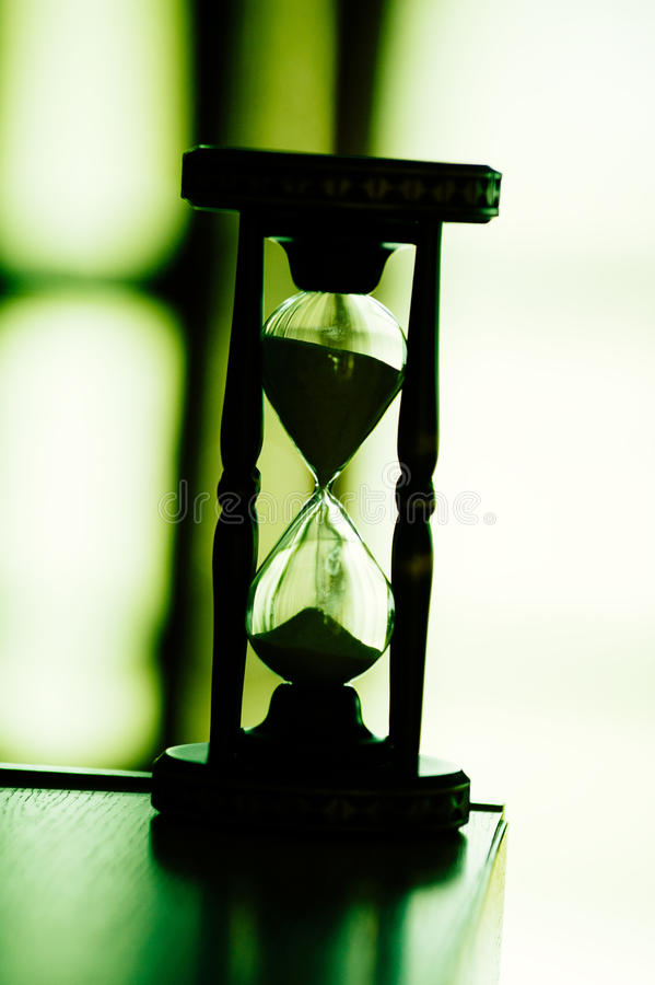 Sand clock hourglass royalty free stock image