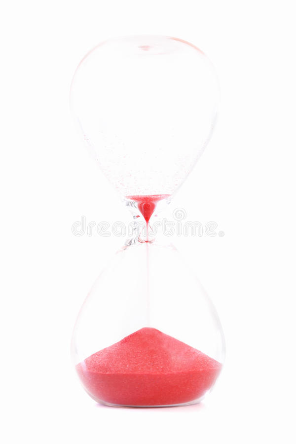 Free Sand Clock Isolated Time S Up Concept Royalty Free Stock Photos - 55881518