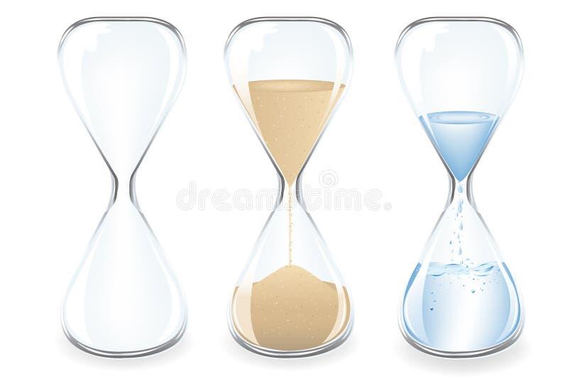 Download Sand Clocks. Vector stock vector. Image of flow, element - 14009558