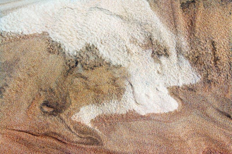 Sand der verschiedenen Farben stockfotografie