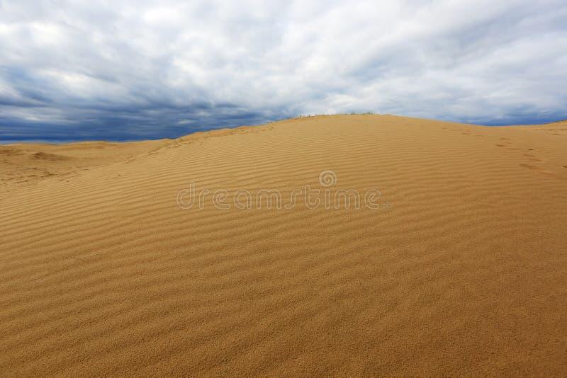 Download Sand Desert  Before Thunderstorm Stock Photo - Image: 33510836