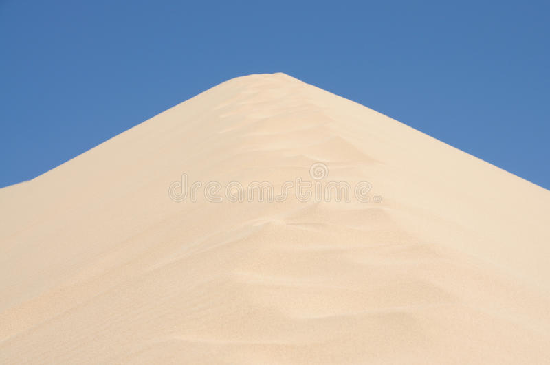 Download Sand Dune stock photo. Image of blue, pattern, desert - 10271004