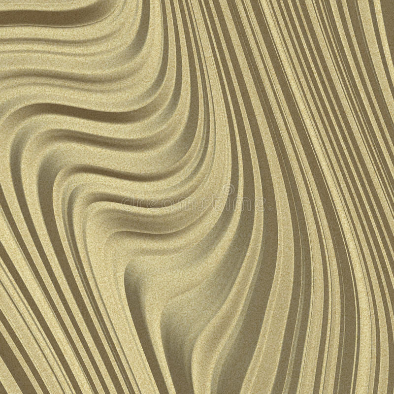 Download Sand Dune stock illustration. Image of beige, abstract - 12121537