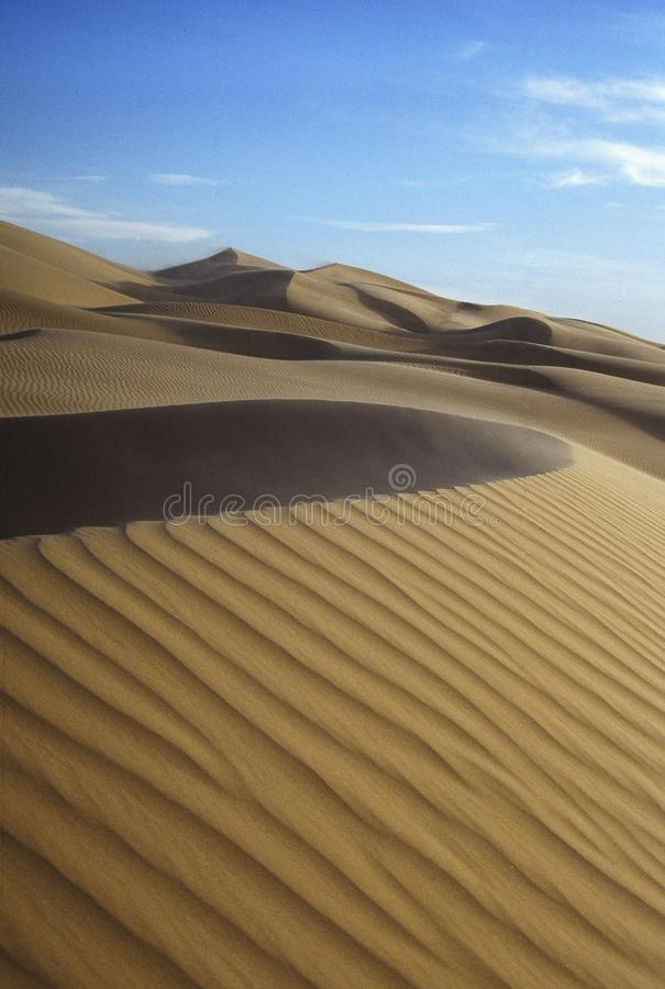 Sand Dune Curves stock photos
