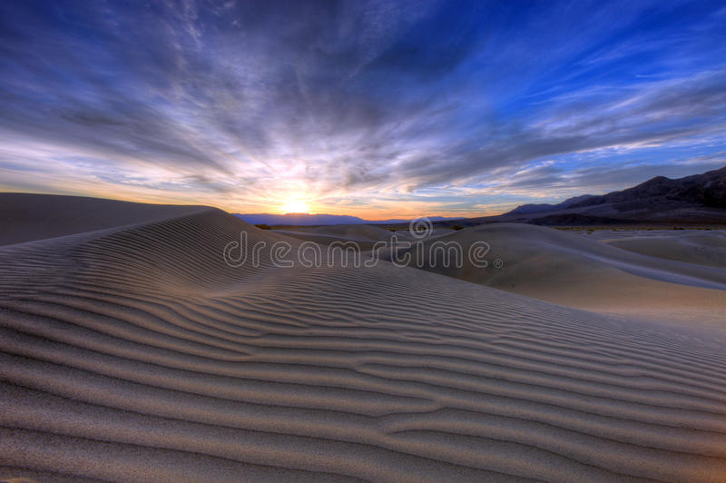 Download Sand Dune Landscape In Death Valley CA Stock Photo - Image: 20169132