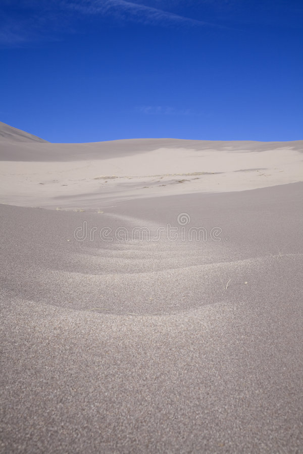 Download Sand dune path stock image. Image of upward, path, washed - 7499943