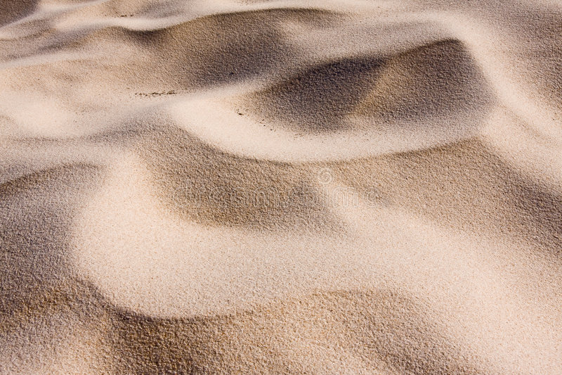 Download Sand dune ripples stock image. Image of idyllic, moon - 7645371