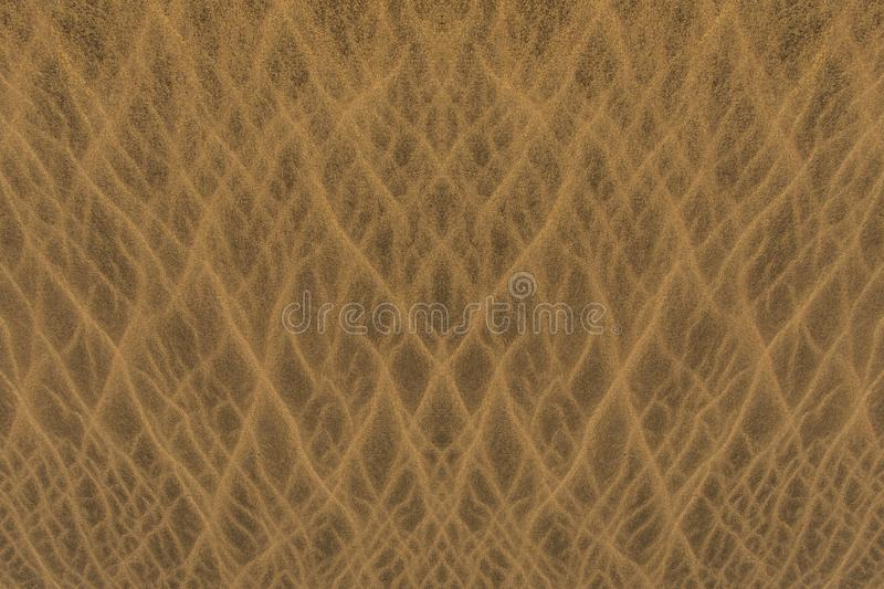 Sand dune texture royalty free stock image