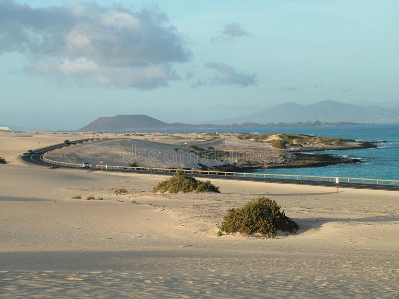 Sand Dunes royalty free stock photo
