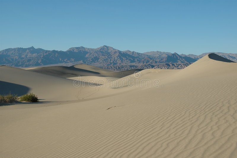 Download Sand Dunes stock image. Image of blue, cloud, park, valley - 678777