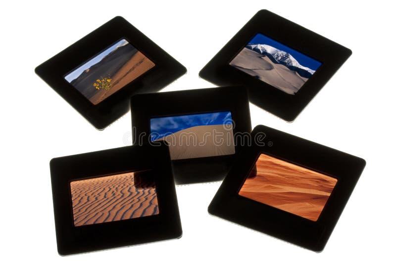 Download Sand Dunes - Color Slides On A Lightbox Stock Photo - Image: 11745346
