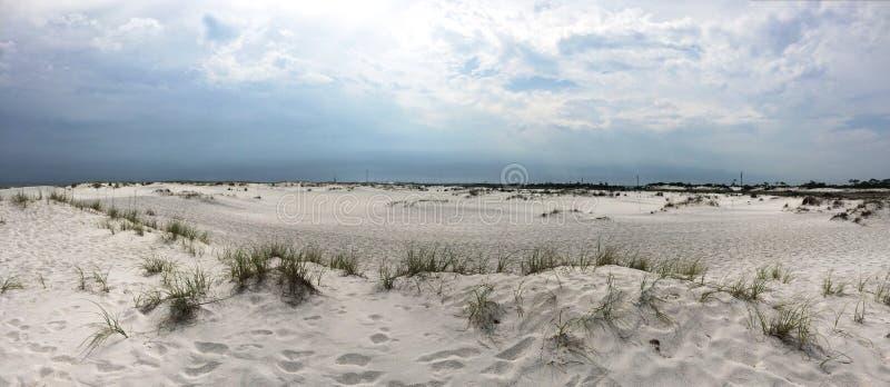 Sand dunes of Santa Rosa Island royalty free stock photography