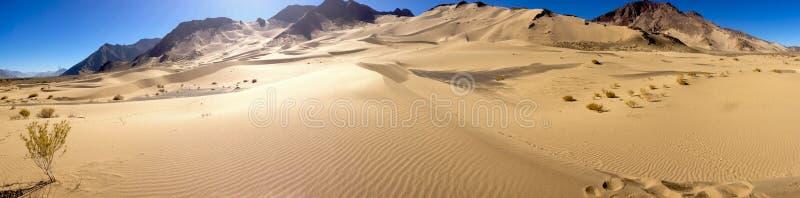 Sand dunes of Tibet royalty free stock image