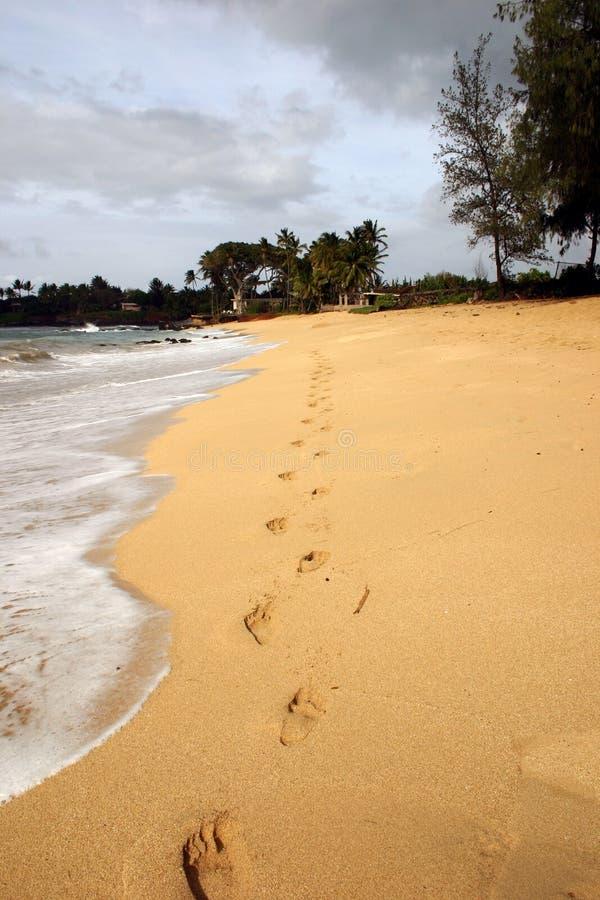 Sand för 2 fotspår