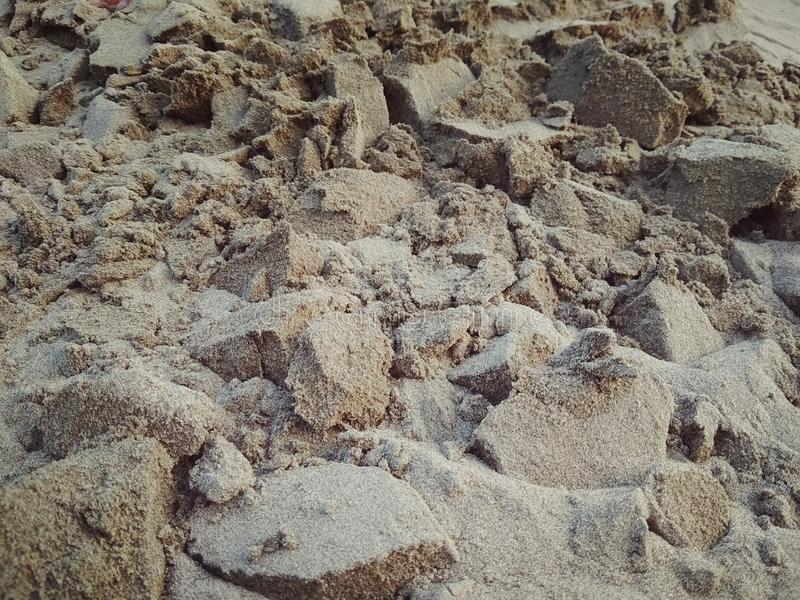 sand fall royalty free stock images