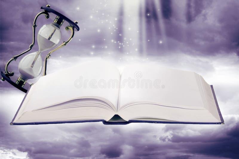 sand felika exponeringsglas för bok saga arkivfoton