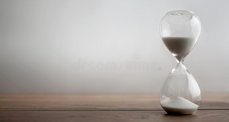 Hour glass background royalty free stock photos