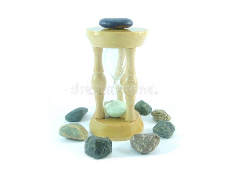 Sand-glass royalty free stock photos