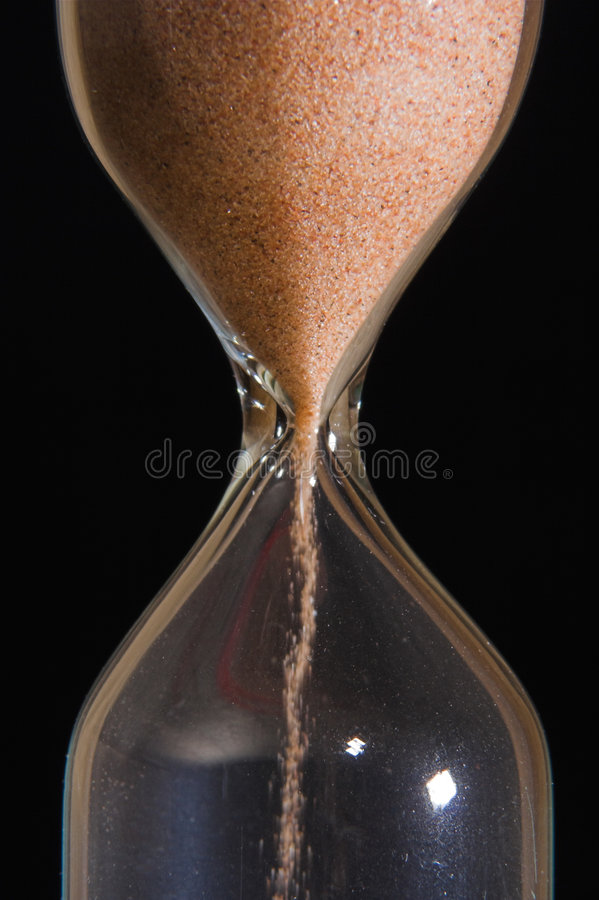 Sand-glass royalty free stock images