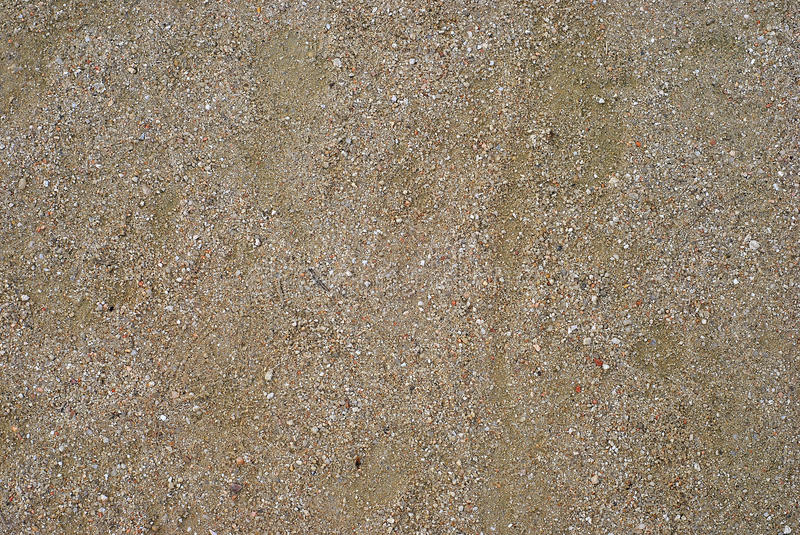 Sand In The Ground Royalty Free Stock Photos