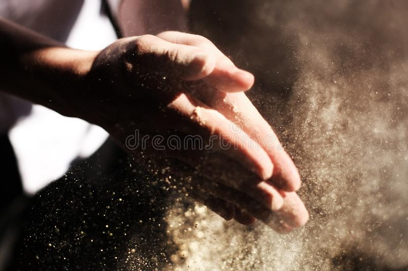 Sand On Hands Free Public Domain Cc0 Image