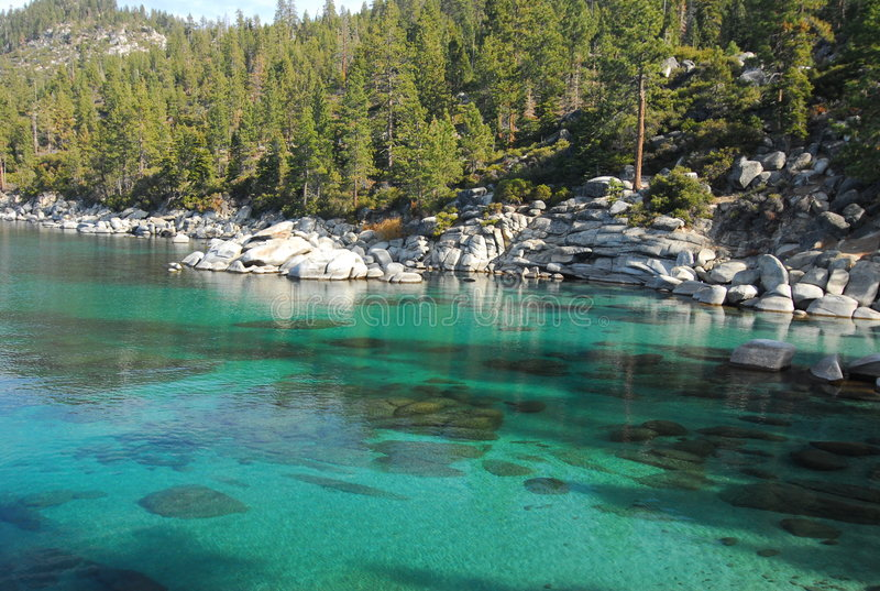 Sand harbor state park royalty free stock images