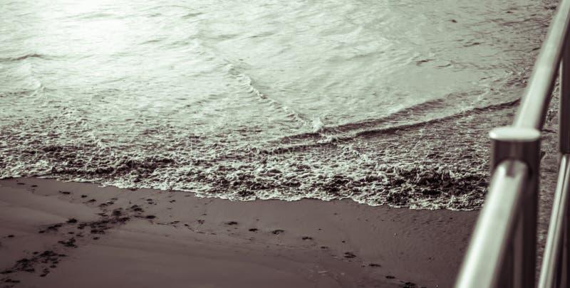 sand havet royaltyfri bild