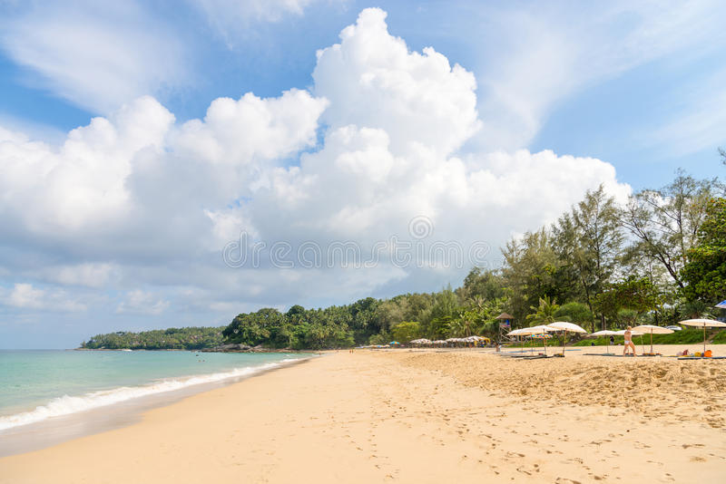 Download Sand Idillic Beach On Phuket Island In Thailand Editorial Photography - Image of blue, nature: 96125792