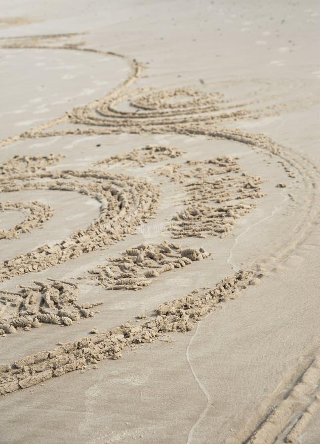 Sand-Kunst stockbilder