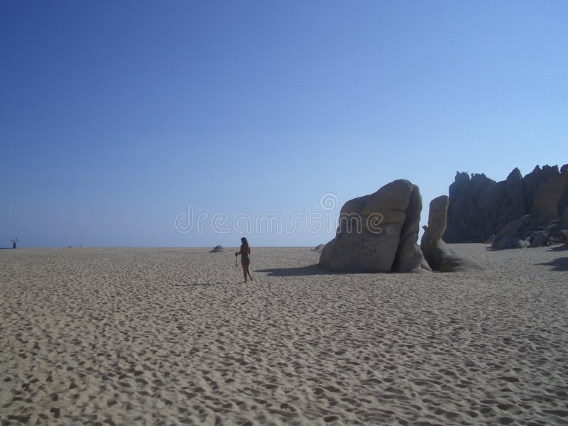Download Sand land stock photo. Image of america, panorama, vegetation - 1718646