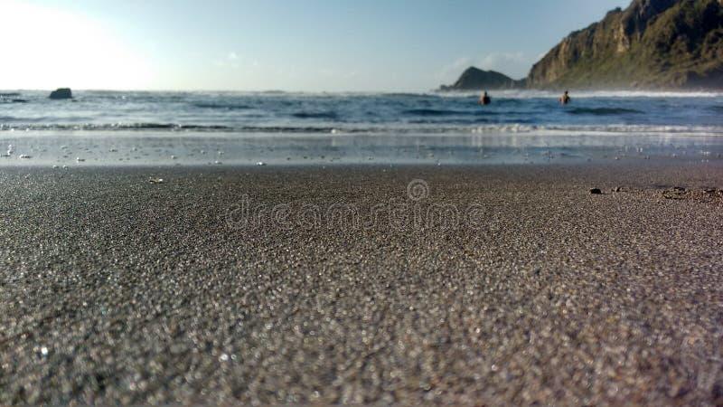 Sand of Lebu royalty free stock photos